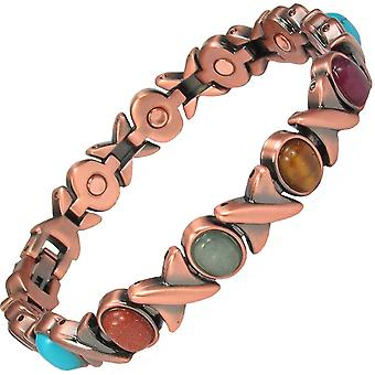 MPS® MEGANE ASSORTED Copper Rich Magnetic Bracelet + Free Links Removal Tool