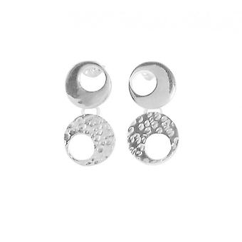 Cavendish French Double Trouble Silver Earrings