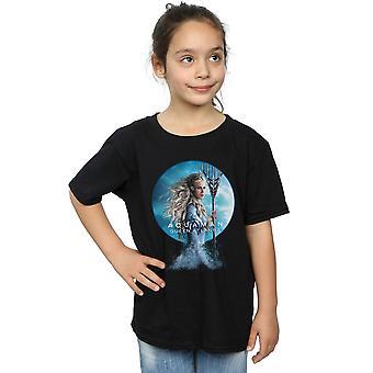 DC Comics Aquaman Königin Atlanna T-Shirt für Mädchen