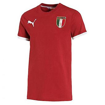 2014-15 Italy Puma FIGC Badge Tee (White)