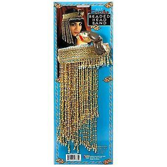 Cleopatra pärlstav egyptiska pannsmycke.