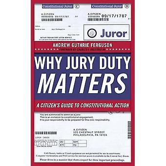 Pourquoi du Jury matière - un Guide du citoyen au recours constitutionnel par