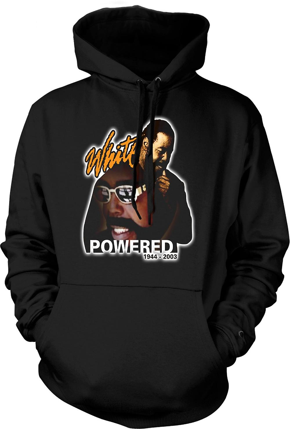 Mens Hoodie - Barry White - Powered