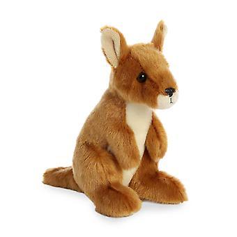 Aurora Mini Flopsies - Kangaroo Soft Toy 20cm
