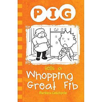 Schwein sagt eine satte große Lüge