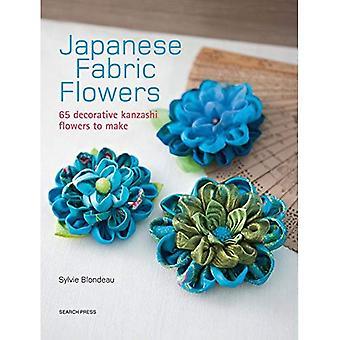 Bloemen van de Japanse weefsel: 65 decoratieve Kanzashi bloemen te maken