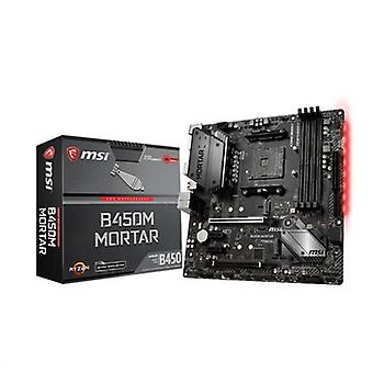Kort mor Gaming MSI B450M mørtel mATX AM4
