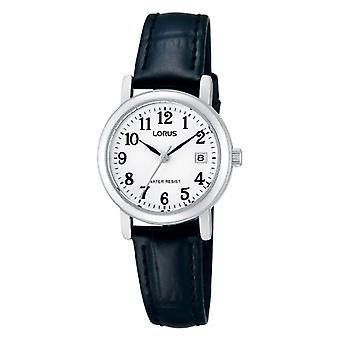 Lorus RH765AX9-montre-bracelet, cuir, couleur: noir
