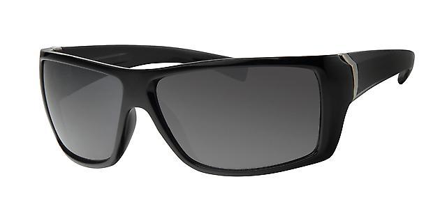 Basics Celebrity Sunglasses - Shiny Black