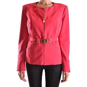 Elisabetta Franchi Fuchsia Nylon Outerwear Jacket