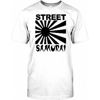 Street Samurai - Cool Biker -  Mens T Shirt