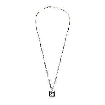 Gucci Silver Silver Necklace