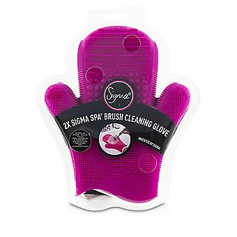 Sigma Beauty 2x Sigma Spa Brush Cleaning Glove - # Pink - -