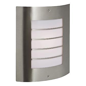 Firstlight-1 luz de pared de acero inoxidable IP44-6408ST