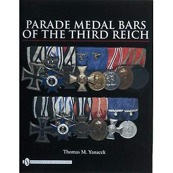 Barras da medalha da parada do terceiro Reich