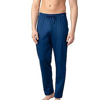 Mey Men 20760-664 Men's Lounge Neptune Blue Cotton Pajama Pyjama Pant