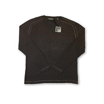 Agave Lux 'Kitzbuhel' cotton knitwear in brown