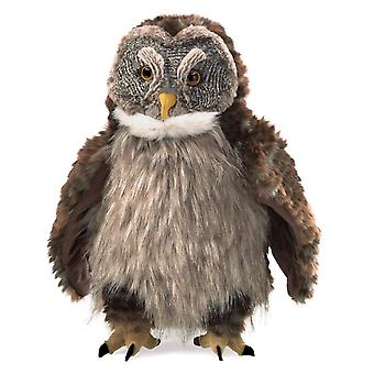 Hand Puppet - Folkmanis - Owl Hooting New Toys Soft Doll Plush 3135