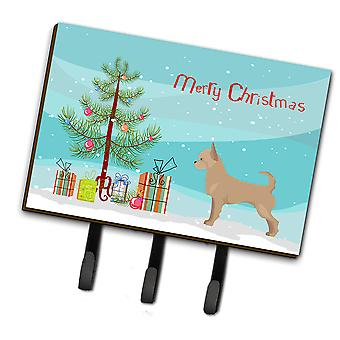 Carolines Treasures  CK3818TH68 Tan Chorkie Christmas Tree Leash or Key Holder