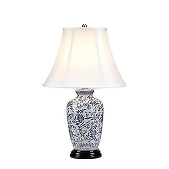 Elstead - 1 Light Table Lamp - Blue Finish - BLUE G JAR/TL