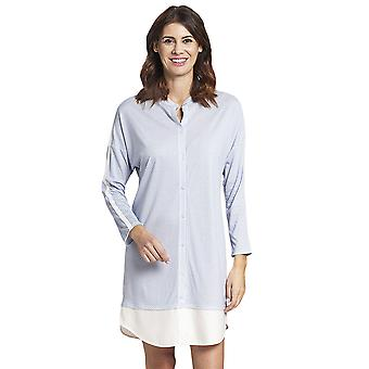 Rosch 1193711-16410 Femmes-apos;s Pure Crystal Blue Spotted Cotton Nightdress