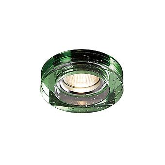 Diyas Crystal Bubble Downlight Round Rim Only Green, IL30800 Required To Complete The Item