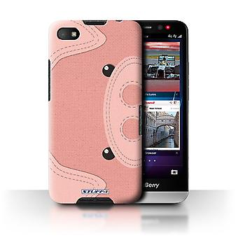 STUFF4 Case/Cover voor Blackberry A10/varken/dier Stitch Effect