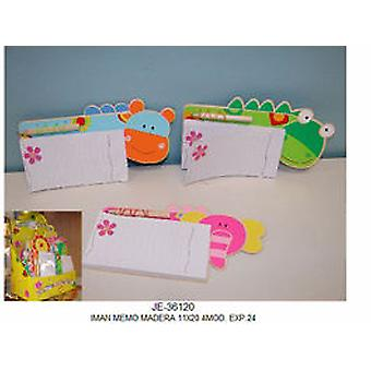 Import Iman Memo Wood 11x20 (Toys , School Zone , Accessories)