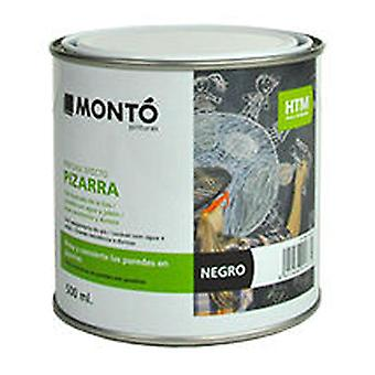 Monto pinturas Htm Black shales paint 500ml (DIY , Painting , Painting , Walls and roofs)