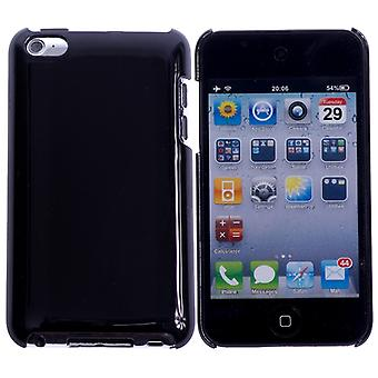 Bright-hard plastic cover iPod touch 4 (black)