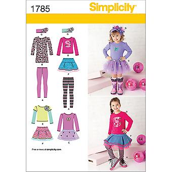 Toddlers' & Child's Sportswear-1/2-1-2-3 US1785AA