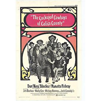 Cockeyed Cowboys of Calico County Movie Poster Print (27 x 40)