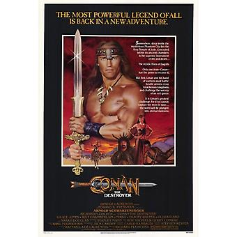 Conan the Destroyer Movie Poster Print (27 x 40)