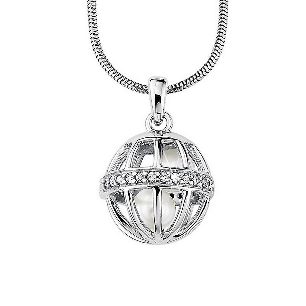 s.Oliver Jewel Damen Kette Collier Silber Zyrkonia SO641/1 - 385817