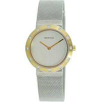 Bering ladies slim watch clock classic - 10629-010 Meshband