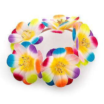 Hellen Multicolor Gummizug Flower Hair Haargummi