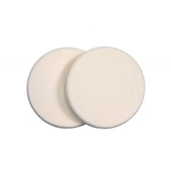 Qvs 2 round Sponges Makeup (Make-up , Brushes)