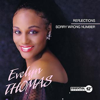 Evelyn Thomas - Reflections / Sorry Wrong Number USA import