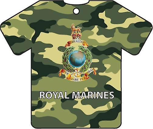 Personalised Royal Marines Car Air Freshener