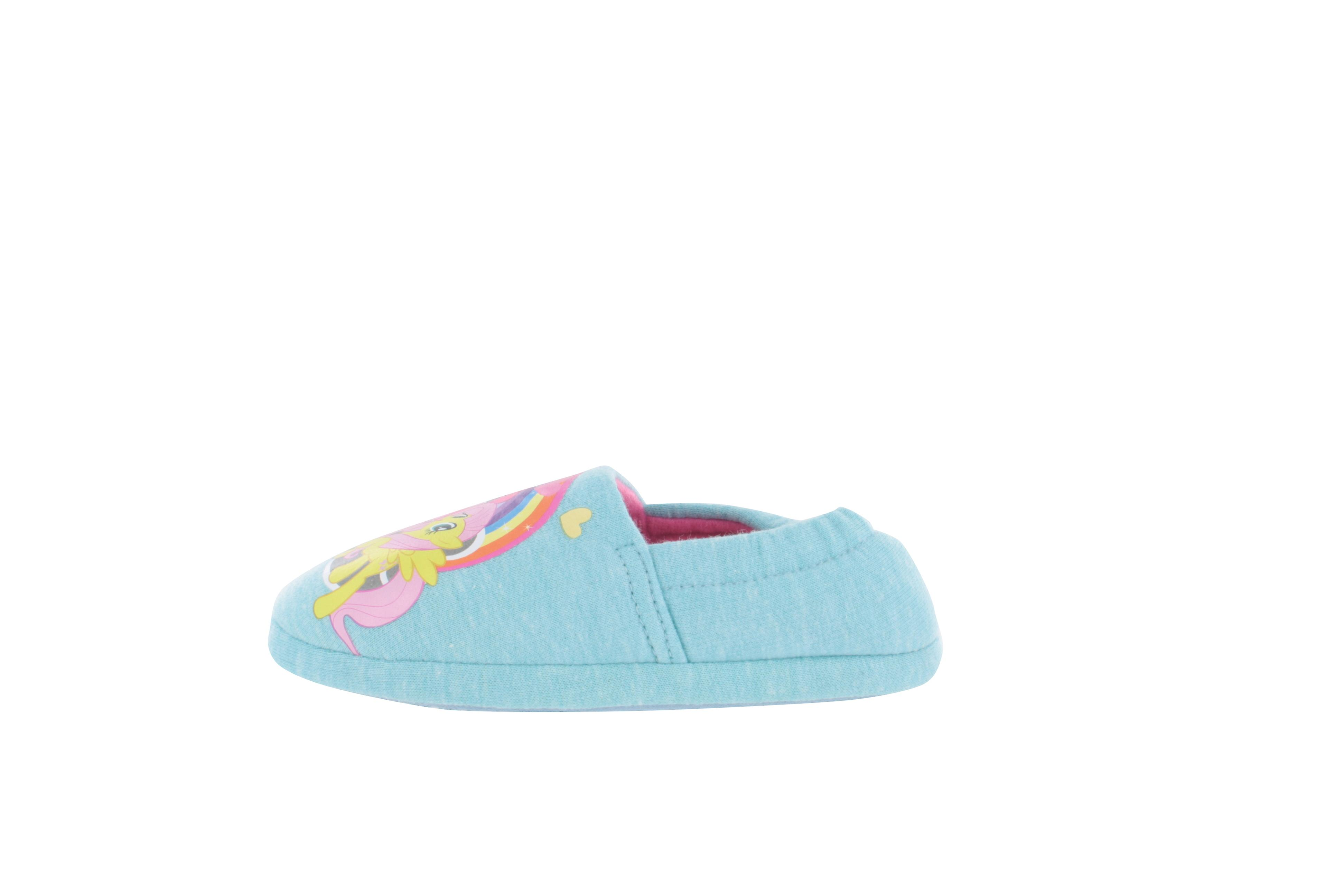 My Little Pony Lilibeth Slippers Blue Girls Kids Various Sizes 6 to 12