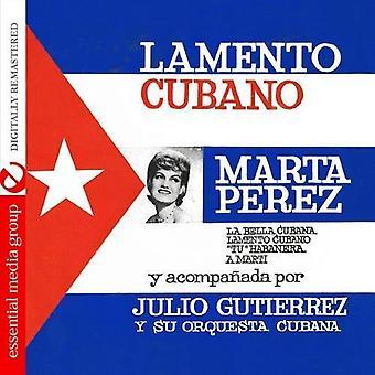 Marta Perez - Lamento Cubano [CD] USA import
