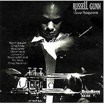 Russell Gunn - kærlighed Requiem [CD] USA import
