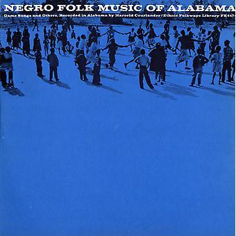 Neger folkmusiken av Alabama - Negro Folkmusik av Alabama: Vol. 6-Ring spel låtar & andra [CD] USA import