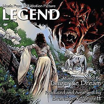 Brandon K Verrett - legende: Musik fra the Motion Picture [CD] USA import