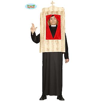 Confessional costume priest in the confessional men's costume one size