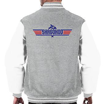 Top Gun Logo Metal Gear Solid Shagohod Men's Varsity Jacket