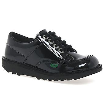Kickers Lo Girls Junior School Shoes