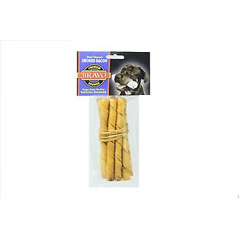 Bravo Twist Palito Bacon 5 'Pack 10 units (Dogs , Treats , Bones)