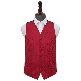 Bourgondische Scroll bruiloft gilet