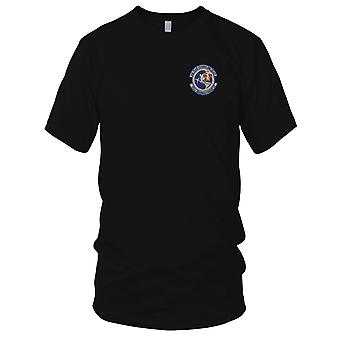 USAF Airforce - 622nd Aeromedical Staging Squadron Embroidered Patch - Mens T Shirt